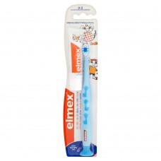 Elmex Szczoteczka do zębów do nauki szczotkowania dla dzieci 0-3 lat miękka + Pasta do zębów 12 ml