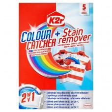 K2r Colour Catcher + Stain Remover Saszetki 150 g (5 sztuk)