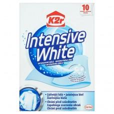 K2r Intensive White Chusteczki do prania 10 sztuk