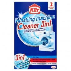 K2r Środek do czyszczenia pralek 3w1 150 g (2 saszetki)