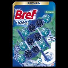 Bref WC Color Aktiv Zawieszka do muszli WC eukaliptus 3 x 50 g
