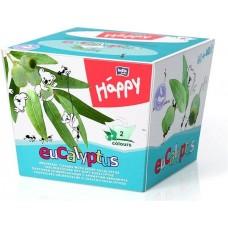 Bella Baby Happy dětské papírové kapesníky 2vrstvé s vůní eukalyptu