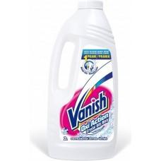 Vanish Oxi Action Krystaliczna biel Odplamiacz do tkanin w płynie 2 l