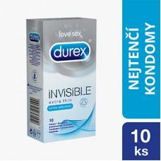 Durex Invisible Prezerwatywy 10 sztuk