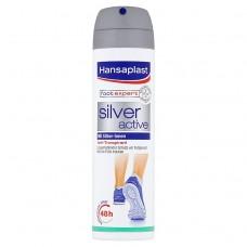 Hansaplast Foot Expert Silver Active Foot Antiperspirant Spray 150ml