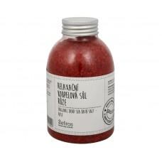 Sefiros relaxační koupelová sůl růže