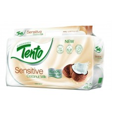 Tento Sensitive Coconut Milk Toilet Paper 8 Rolls
