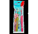 TEPE Kids ZOO dětské zubní kartáčky Extra Soft