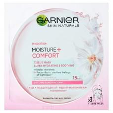 Garnier Skin Naturals Mousture + Comfort Maska kompres 32 g