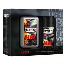 STR8 Rebel toaletní voda s rozprašovačem + deodorant ve spreji