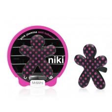 Mr&Mrs Niki BIG Pink Jasmine-Anti Tabaco (černo-růžový) osvěžovač do auta