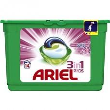 Ariel Touch Of Lenor Fresh 3 w 1 Kapsułki do prania, 14prań