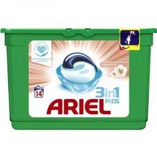 Ariel Sensitive 3 w 1 Kapsułki do prania, 14prań