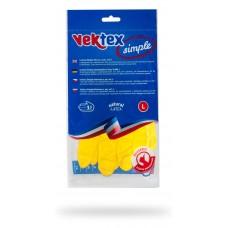 Vektex Simple rukavice úklidové, velikost L