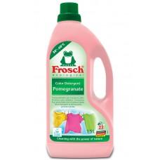 Frosch ecological Owoc granatu żel do prania tkanin kolorowych 1500 ml (22 prania)
