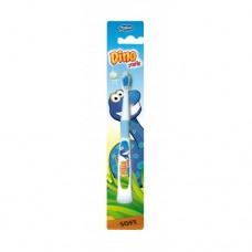 Rebi Dental DINO dětský zubní kartáček měkký