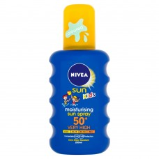 Nivea Sun Kids Coloured Moisturizing Spray SPF 50+ 200ml