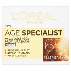 L'Oréal Paris Age Specialist 65+ Nourishing Night Wrinkle Care 50ml